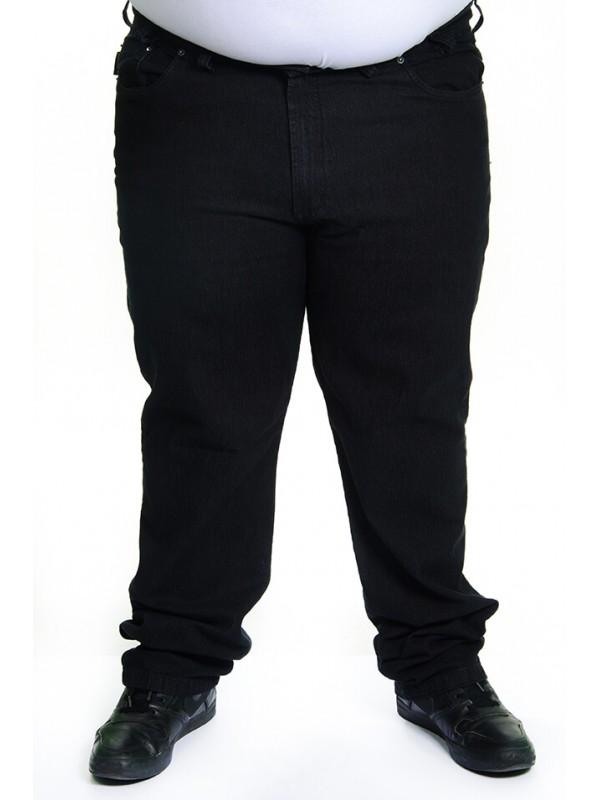 Calça Jeans com Elastano Plus Size Preta