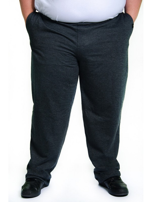Calça Moleton Plus Size Grafite