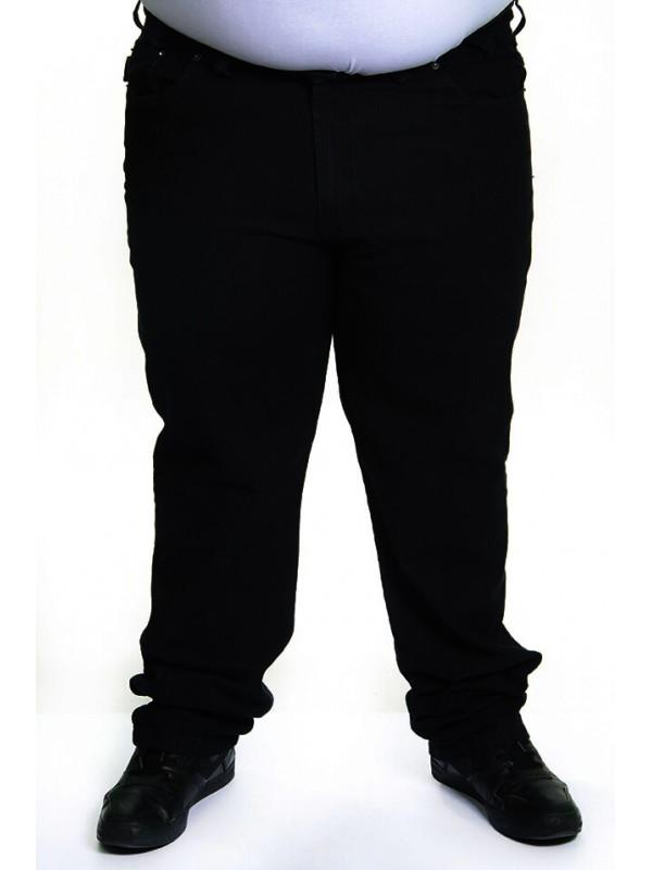 Calça Sarja com Elastano Plus Size Preta