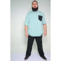 Camiseta Plus Size Flame Verde