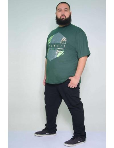 Camiseta Plus Size Hawai Militar