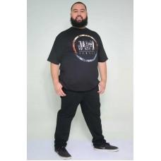 Camiseta Plus Size Jahy Preta