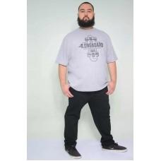 Camiseta Plus Size Longboard Mescla