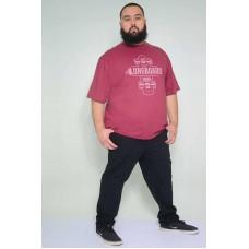 Camiseta Plus Size Longboard Bordo
