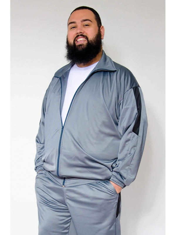 Blusão Chimpa Plus Size Cinza