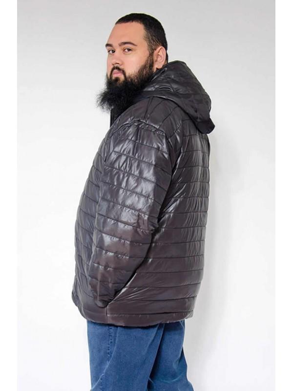 Jaqueta Nylon Plus Size Preta