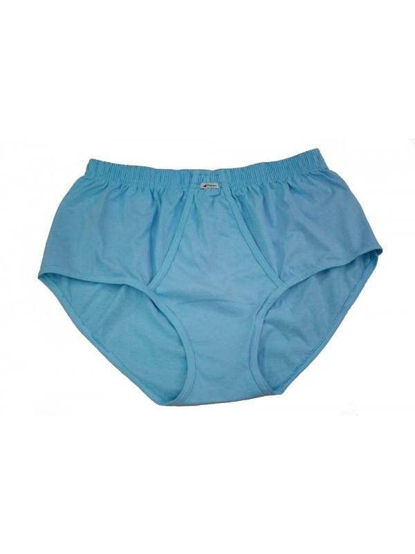 Cueca Tradicional Plus Size Azul Celeste