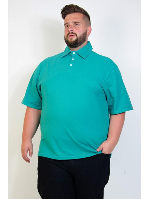 Camiseta Polo Plus Size Jade