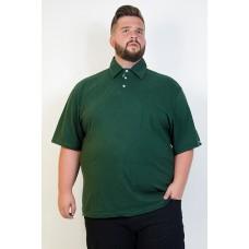Camiseta Polo Plus Size Militar