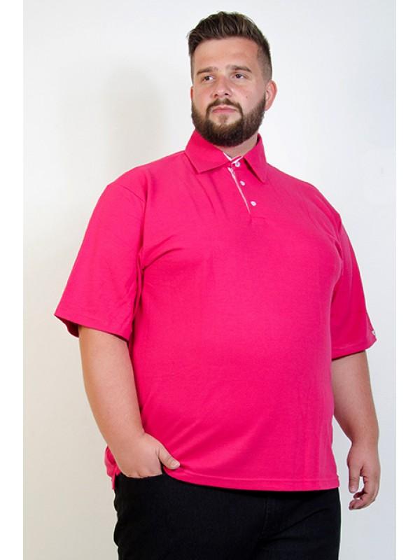 Camiseta Polo Plus Size Pink