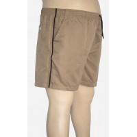 Shorts Microfibra Plus Size Caqui