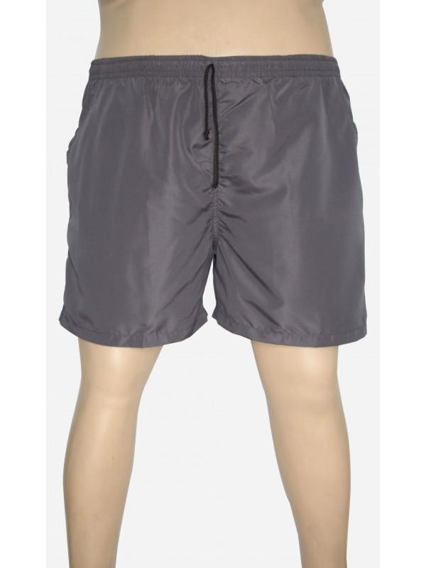 Shorts Microfibra Plus Size Chumbo