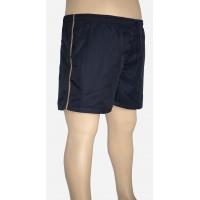 Shorts Microfibra Plus Size Marinho
