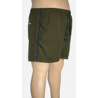 Shorts Microfibra Plus Size Musgo
