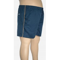 Shorts Microfibra Plus Size Petroleo