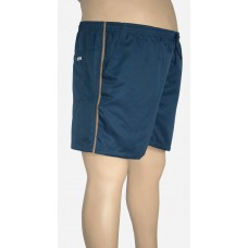 Shorts Microfibra Plus Size Petroleo