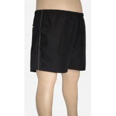 Shorts Microfibra Plus Size Preto