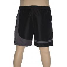 Shorts Microfibra com Recorte Plus Size Preto