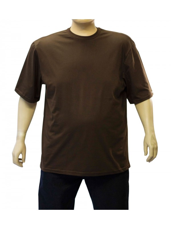 Camiseta Básica Plus Size Cafe