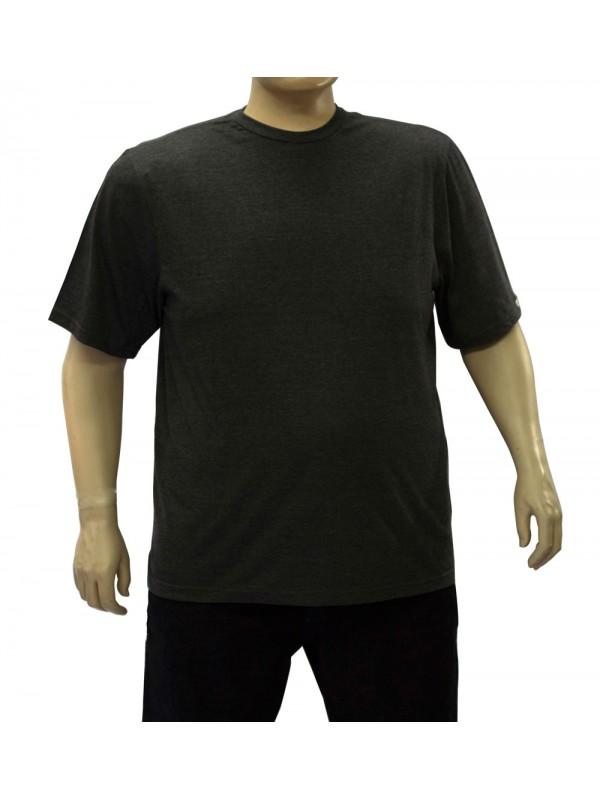 Camiseta Básica Plus Size Grafite