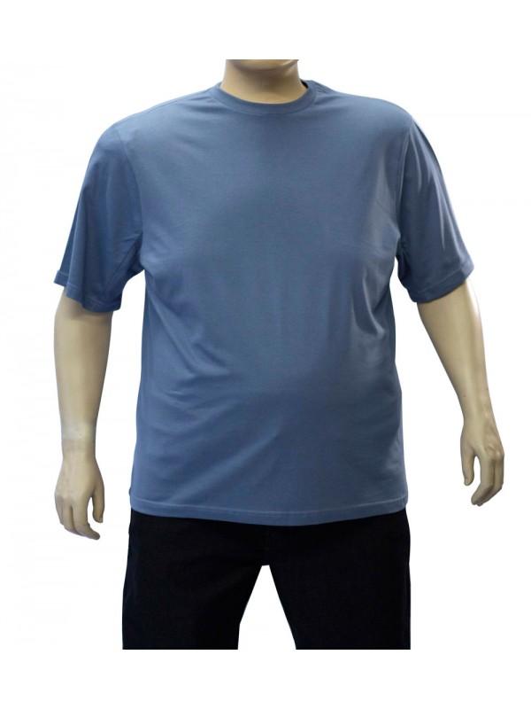 Camiseta Básica Plus Size Jeans