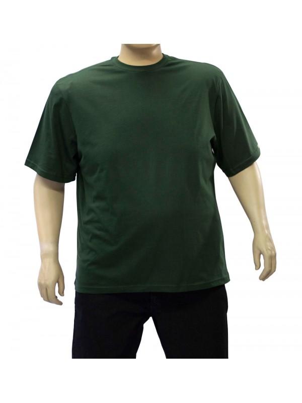 Camiseta Básica Plus Size Militar