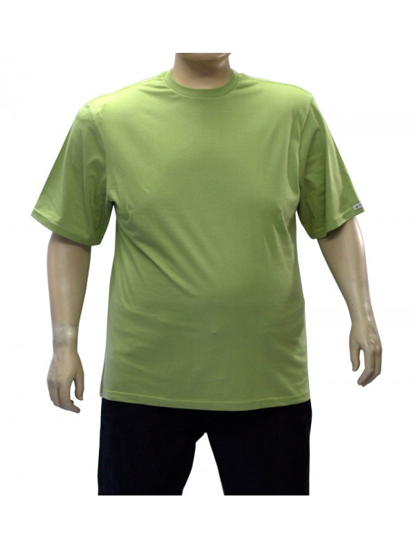 Camiseta Básica Plus Size Oliva