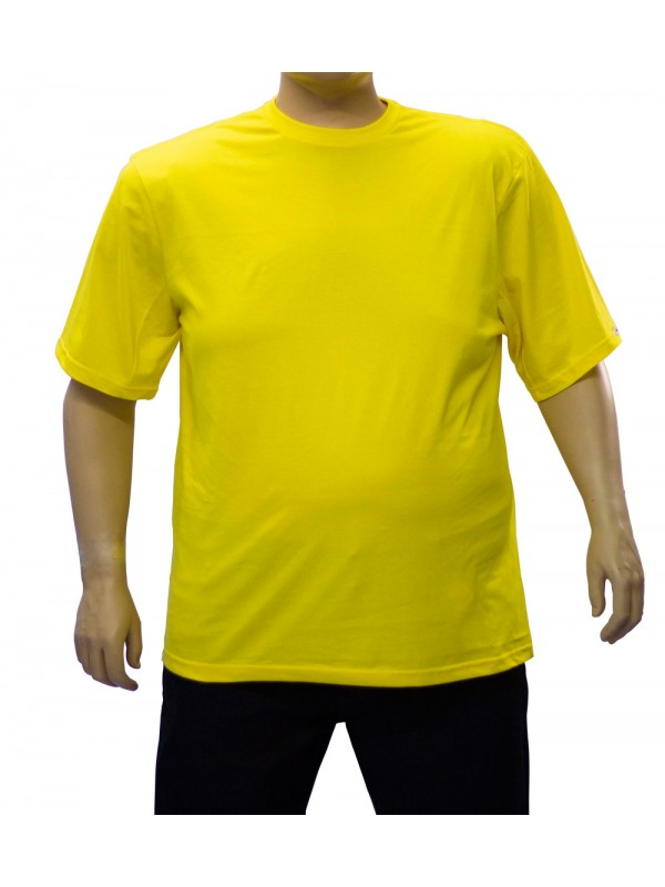 Camiseta Básica Plus Size Ouro