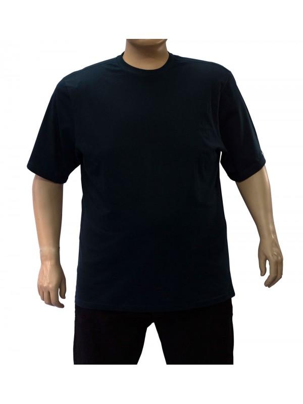 Camiseta Básica Plus Size Petróleo