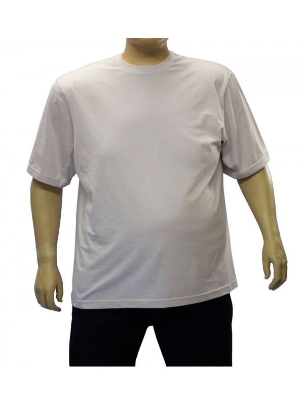 Camiseta Básica Plus Size Prata