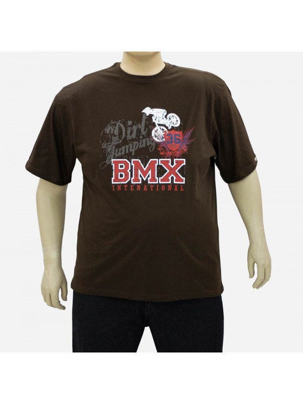 Camiseta Estampada Plus Size BMX Café