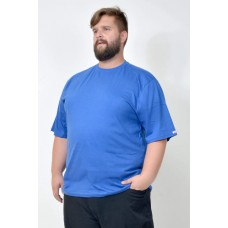 Camiseta Básica Plus Size Royal