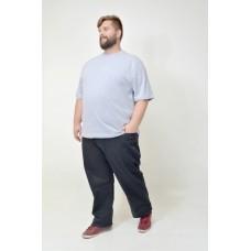 Camiseta Básica Plus Size Mescla