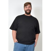 Camiseta Básica Plus Size Preta
