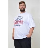 Camiseta Plus Size Los Angeles Branca