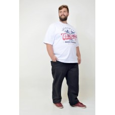 Camiseta Plus Size Los Angeles Branca