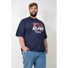 Camiseta Plus Size Miami Marinho
