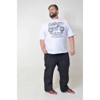 Camiseta Plus Size Ride Like Branca