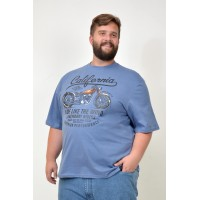 Camiseta Plus Size Ride Like Jeans