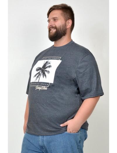 Camiseta Plus Size Summer Grafite
