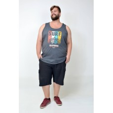 Regata Plus Size California Grafite