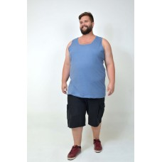 Regata Básica Plus Size Jeans