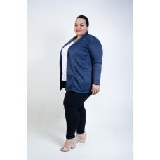 Casaco Lã Plus Size Marinho