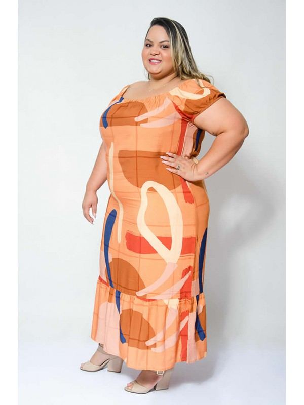 Vestido Ciganinha Midi