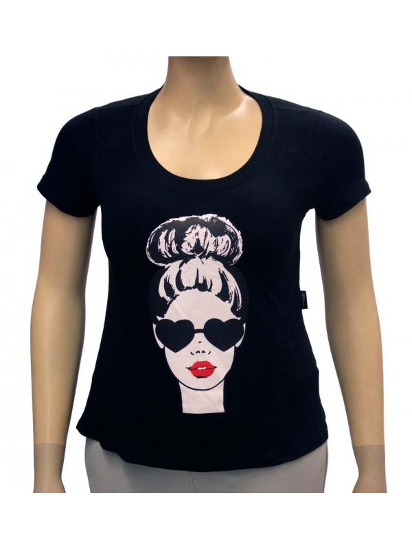 Blusa Plus Size Carol Preta