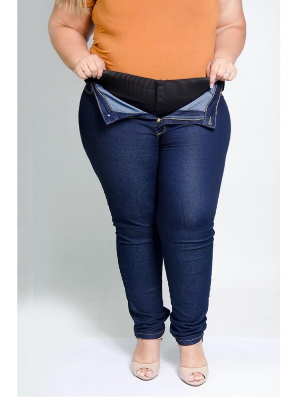 Calça Jeans Modeladora Azul Marinho