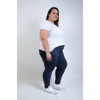 Calça Legging Plus Size Mescla