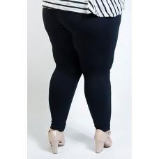 Calça Legging Plus Size Preta